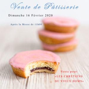 Vente de pâtisserie pour HOMS
